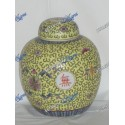 Yellow Jar Medium Porcelain