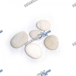"Large white River stones -3""-5"" aprox"